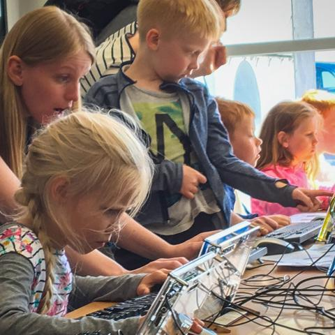MAKERSPACE AT THE LIBRARY